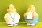 Berta und Bert (seelentröstende Knautschfiguren)